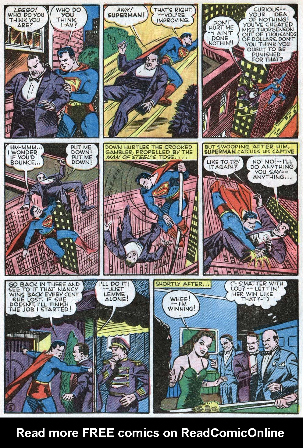 Read online Action Comics (1938) comic -  Issue #40 - 7