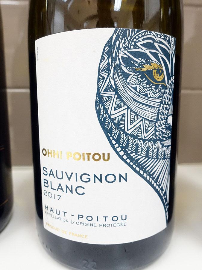 Ohh Poitou Sauvignon Blanc 2017 (88 pts)