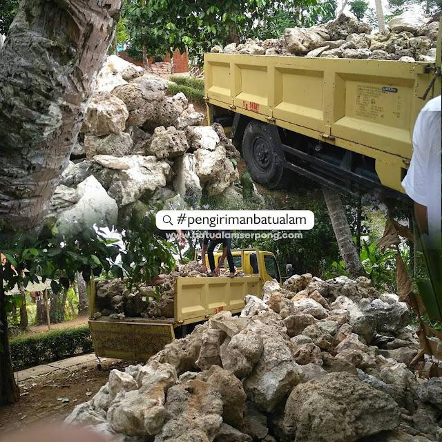 pengiriman batu karang se jabodetabek
