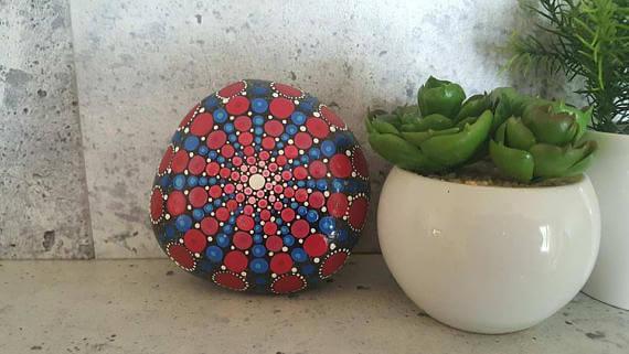 Large Mandala Stones