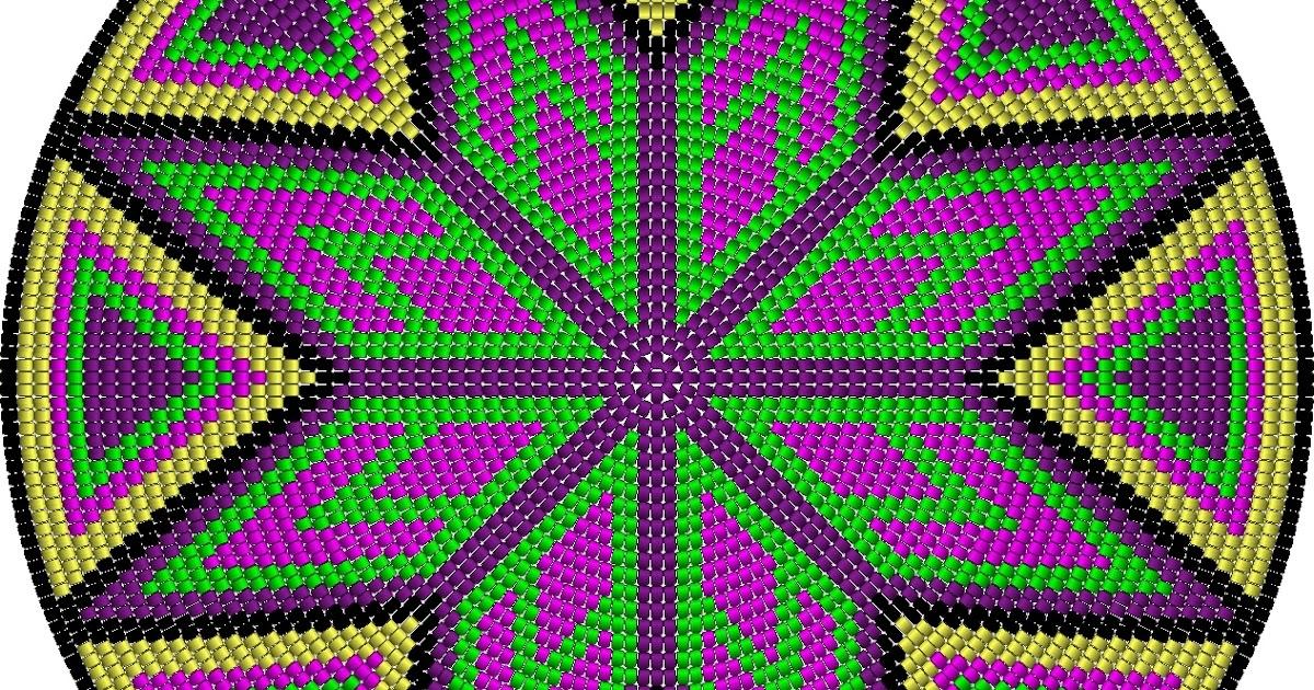 Heikeshäkellust: Neues Muster für Wayuu mochila bag (Boden)