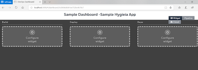 Team Dashboard Configuration in hygieia