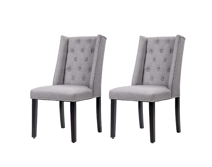 Dining Chair Set of 2 Graceful Dining Side Chairs