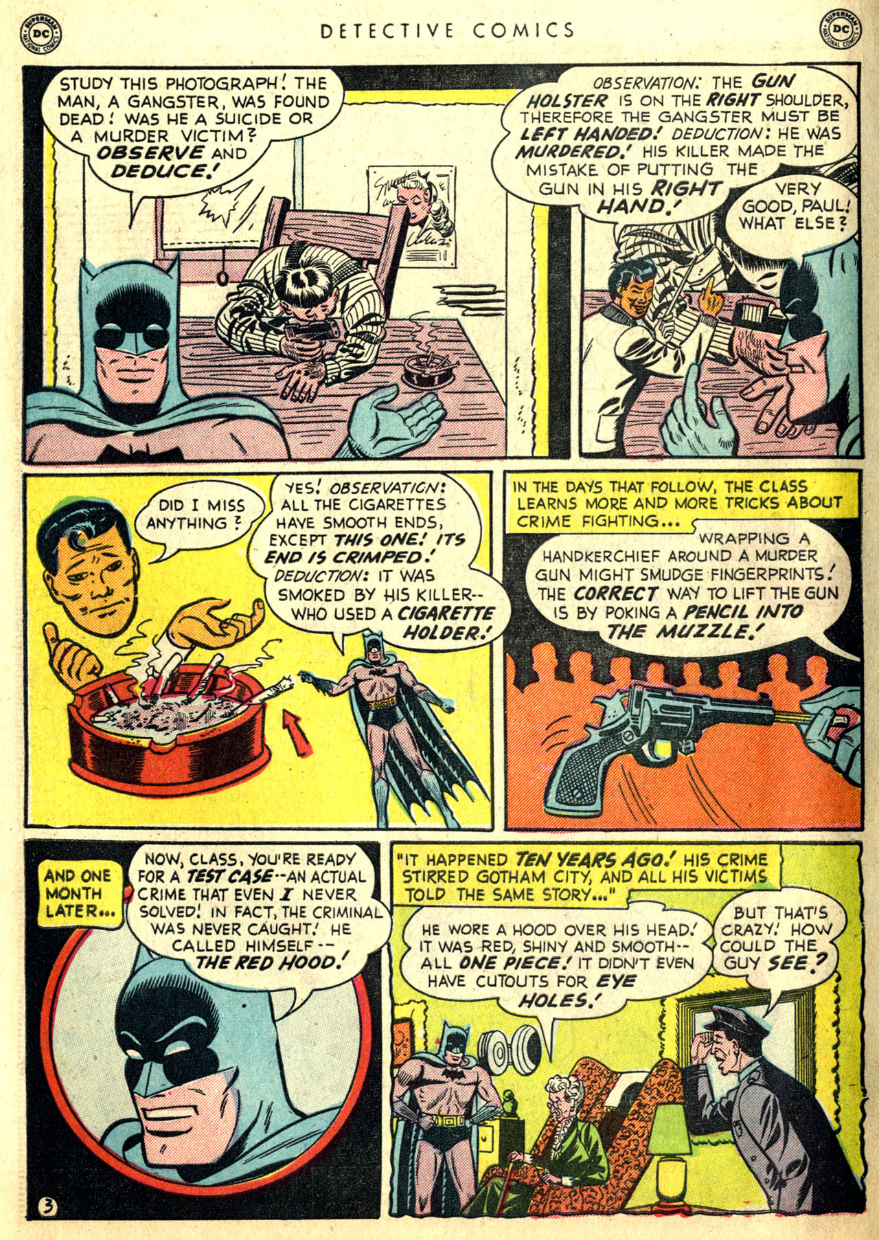 Read online Detective Comics (1937) comic -  Issue #168 - 5