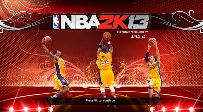 NBA 2K13 Lakers Title Screen Mod