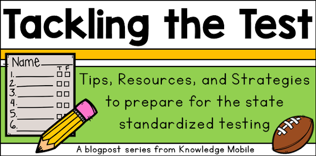 Help students prep for state testing with these test prep review ideas
