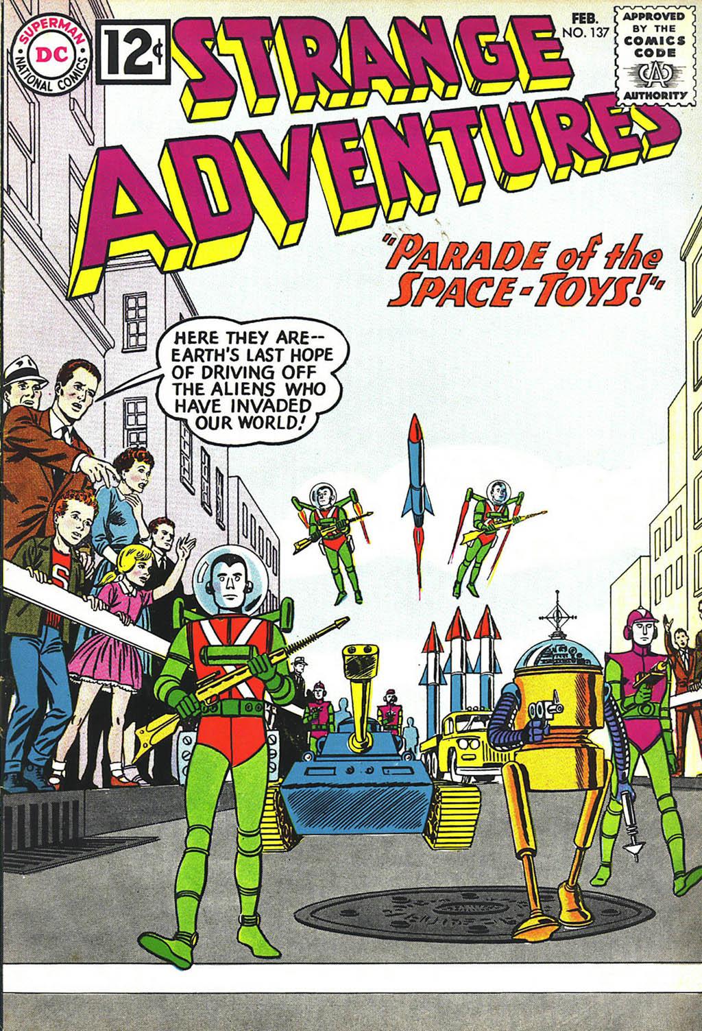 Strange Adventures (1950) issue 137 - Page 1