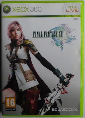 Final Fantasy XIII - Caja delante