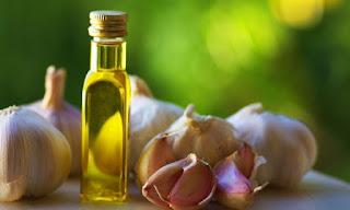 L'huile d'olive et l'ail