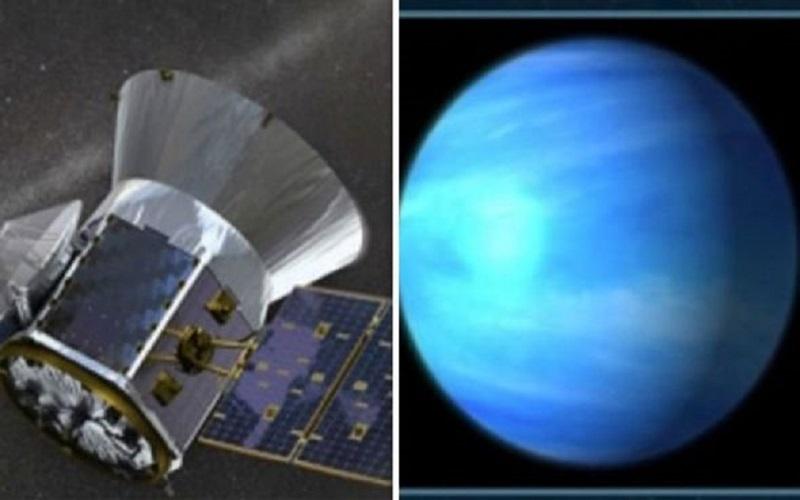 Planeta alienígena similar a la Tierra