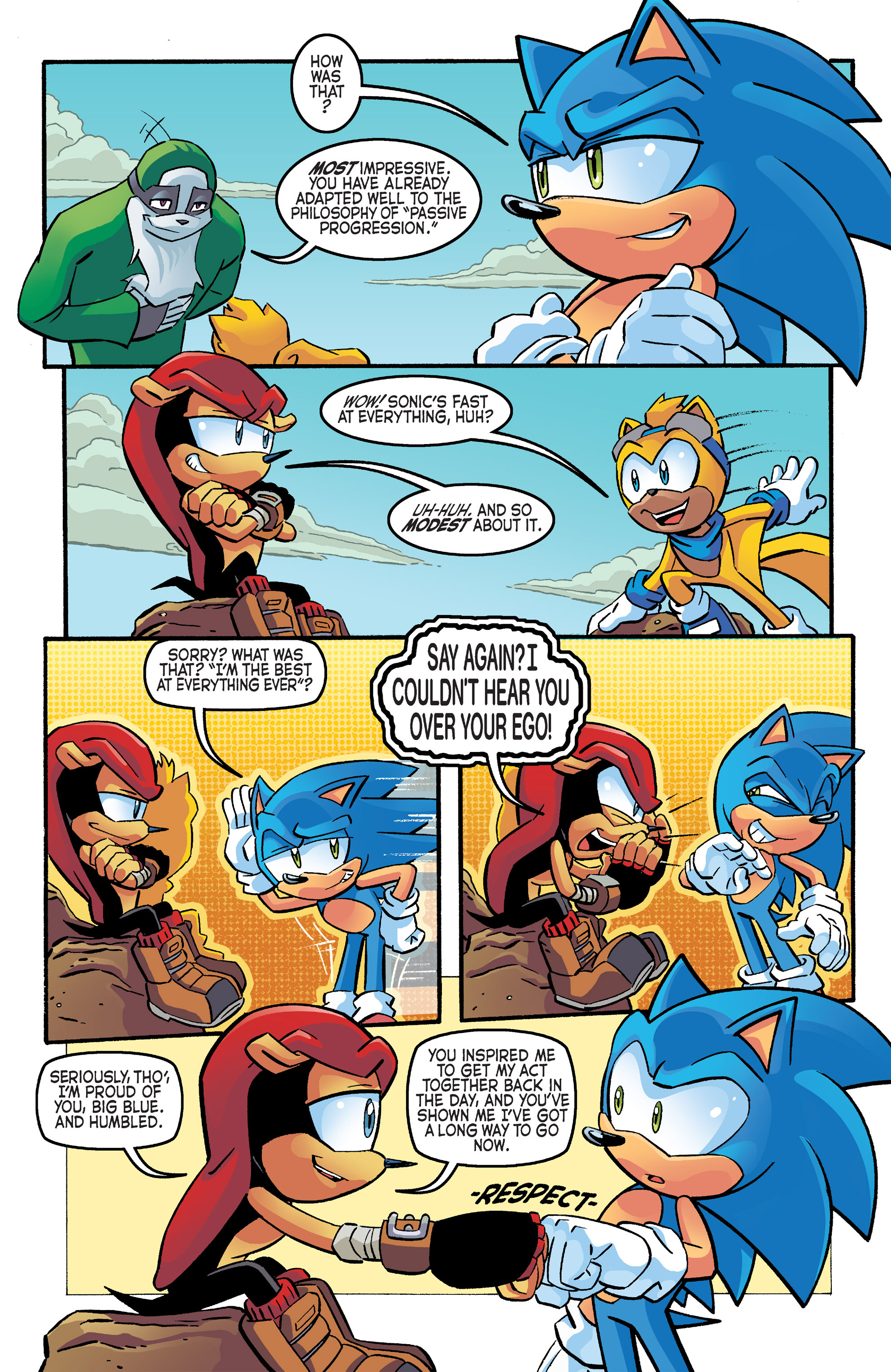 Read online Sonic The Hedgehog comic -  Issue #266 - 14
