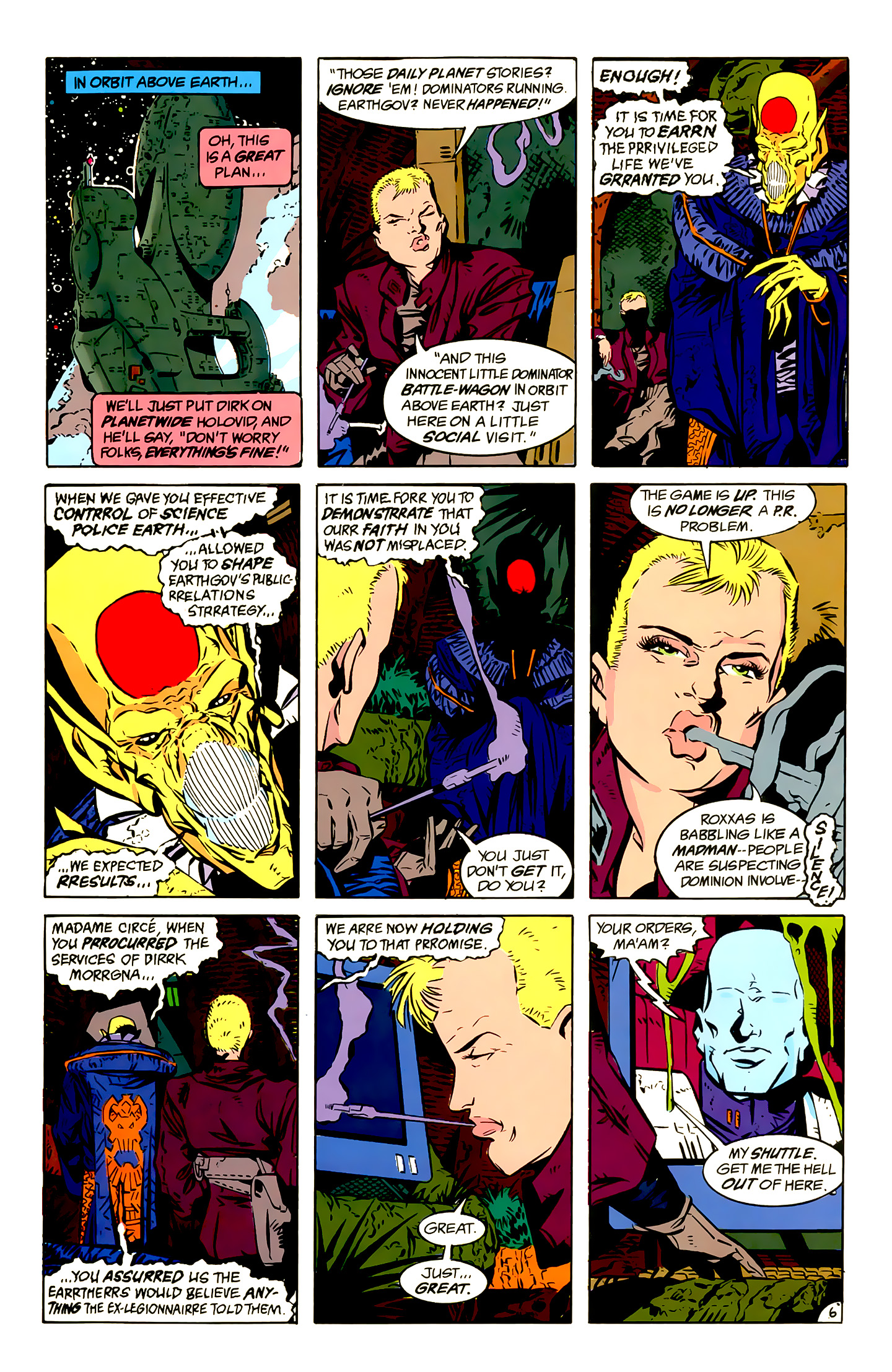 Legion of Super-Heroes (1989) 13 Page 6
