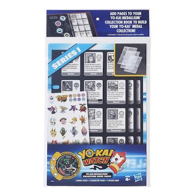 TOYS : JUGUETES - YO-KAI WATCH  Páginas para el álbum coleccionable de medallas  Medallium : Serie 1  Yo-Kai Watch Season 1 Yo-Kai Medallium Collection Book Pages  Hasbro B6046 | PRODUCTO OFICIAL | A partir de 4 años  Comprar en Amazon España & buy Amazon USA