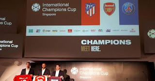 Arsenal Gelar Tur Pramusim 2018 di ICC Singapura Bersama PSG dan Atletico