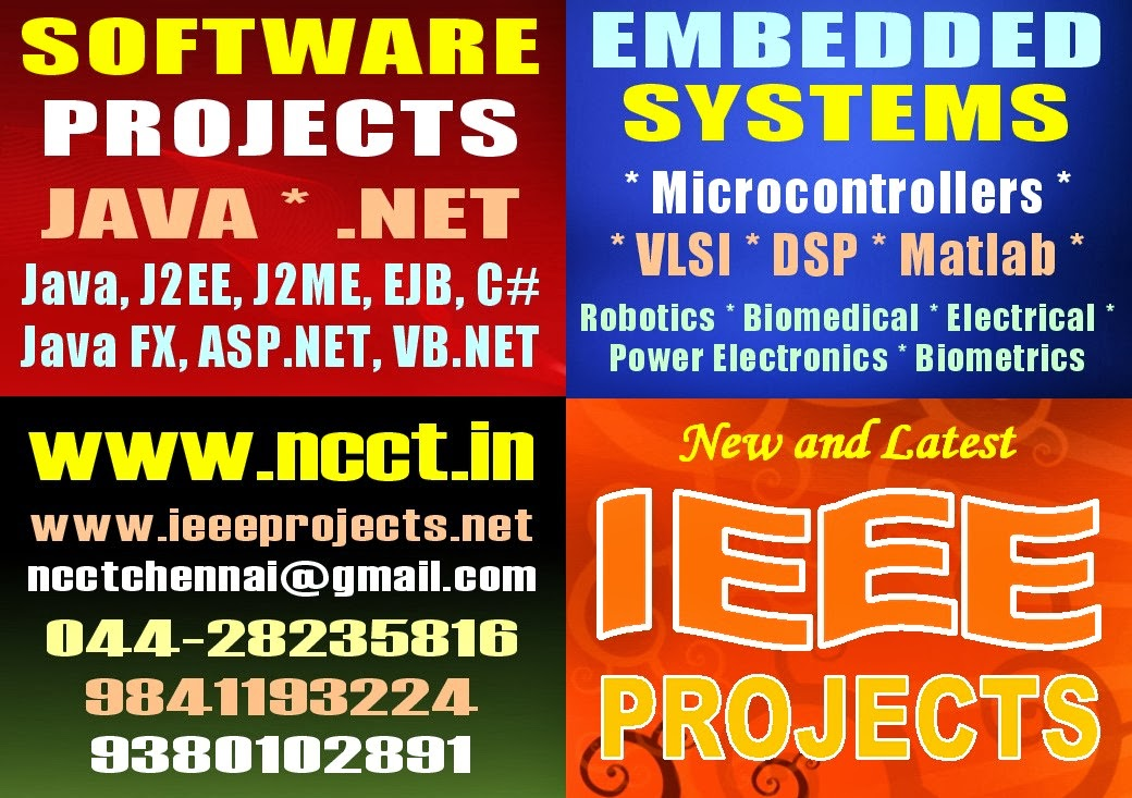 NCCT - PROJECT IMAGE GALLERY: BE Btech Projects, BE Btech