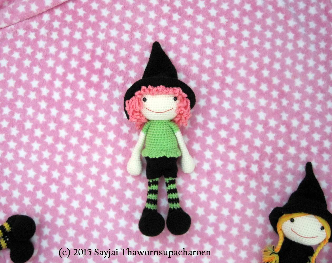 The 3 Witches Amigurumi Pattern - Sayjai Amigurumi Crochet ... | 1000x1260