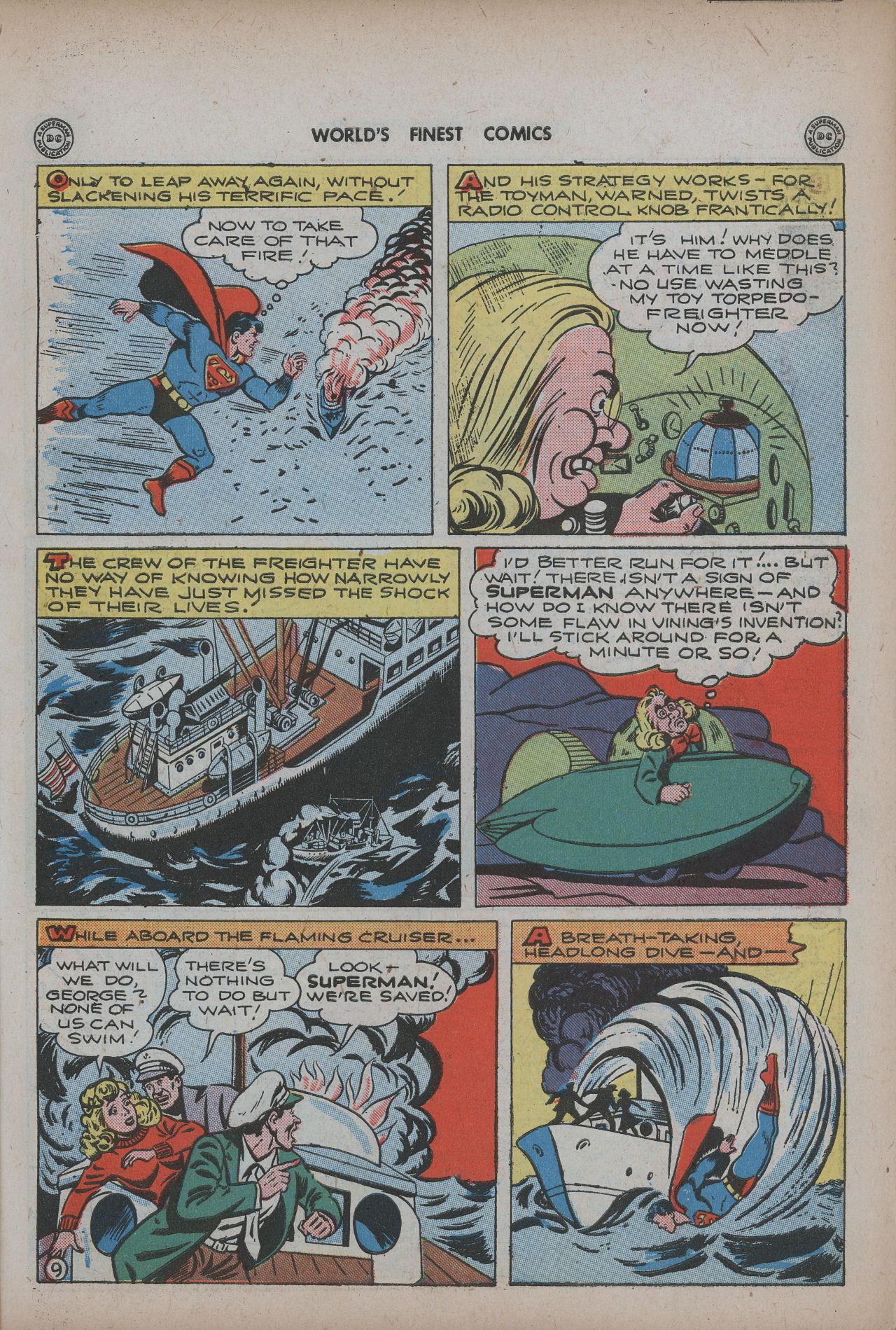 Read online World's Finest Comics comic -  Issue #20 - 11