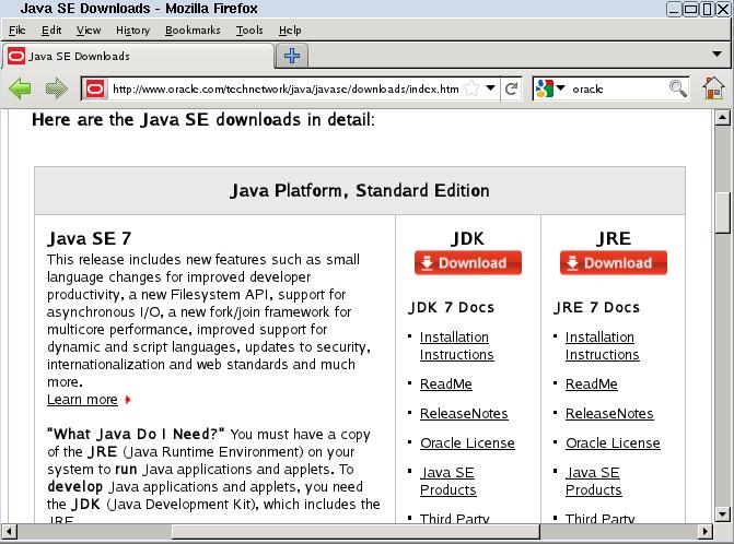 Linux KVM 研究室: Tiny Core 開發平臺 - JDK 7