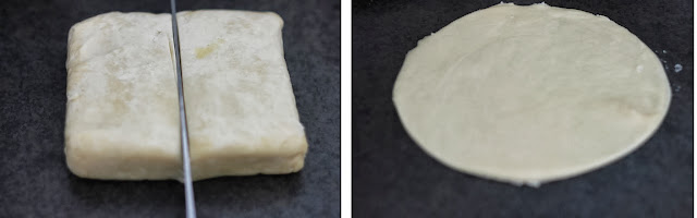 Shortcrust pastry block