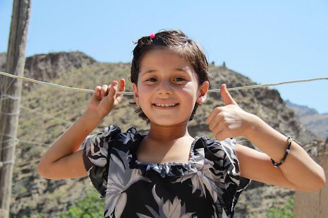 Ouzbékistan, Sentyab, fillette, © L. Gigout, 2012