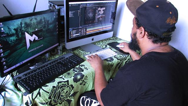 Marcelo Silva: produtor e designer, concede entrevista ao blog Chama do Metal
