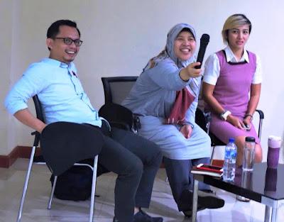 focus group discussion yang diadakan oleh Yayasan Lentera Anak