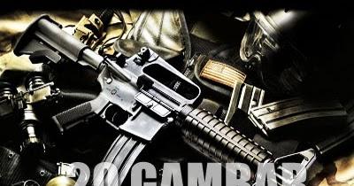 GambarGambar Senjata Pistol Shotgun Revolver