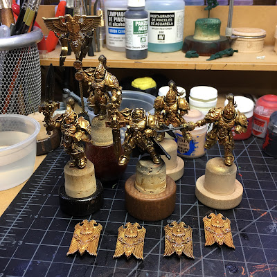 Adeptus Custodes WIP Partial Final Highlights