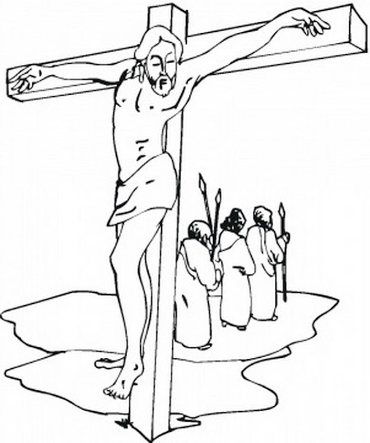 Good Friday Coloring Pages For Adults