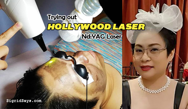 Hollywood laser facial treatment - Nd YAG laser - Bacolod derma - Bacolod dermatologist - beauty - Bacolod dermclinic - facial laser treatment - Bacolod facial laser treatment - Hollywood laser in Bacolod - Bacolod blogger
