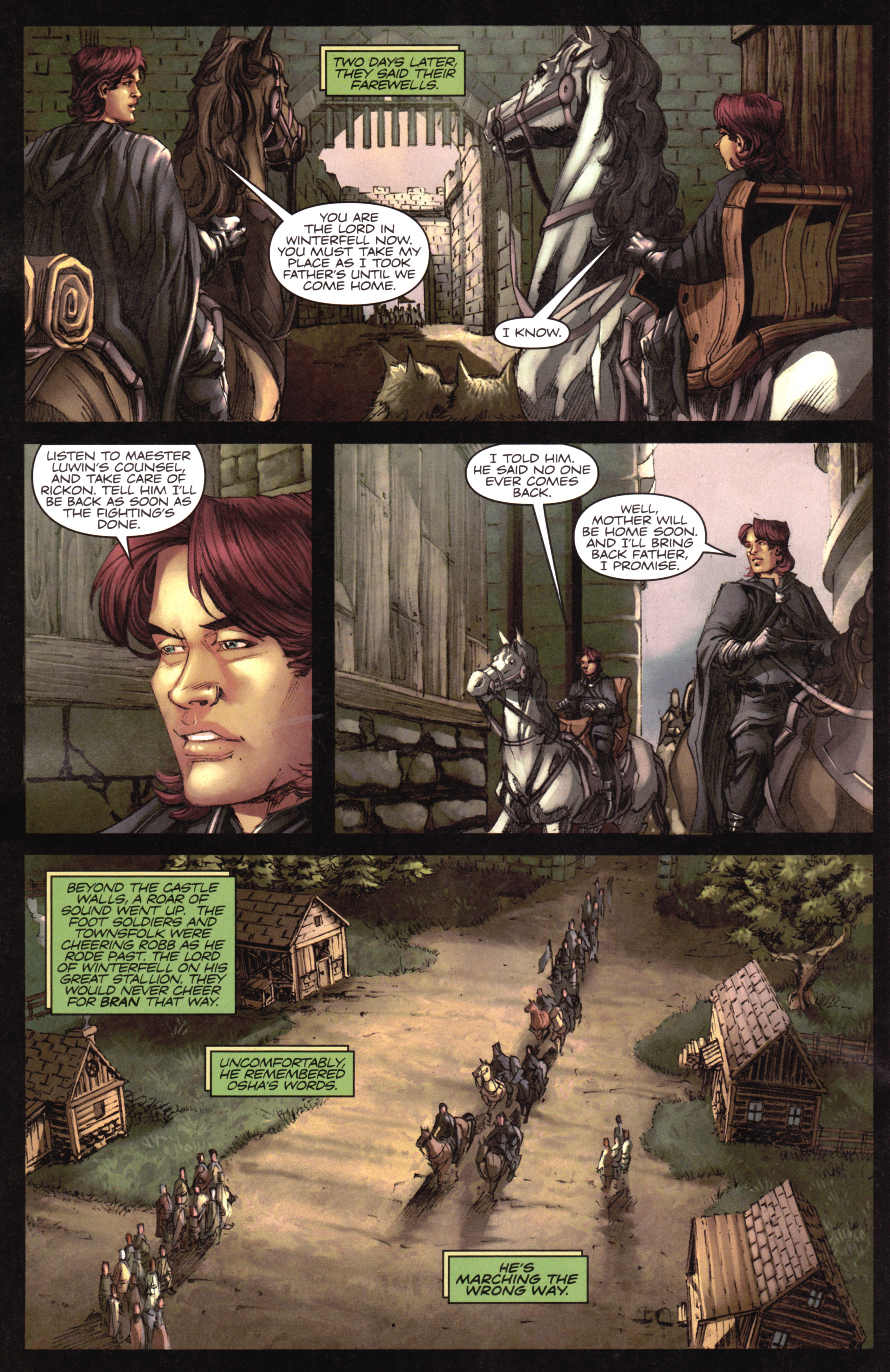 Read online A Game Of Thrones comic -  Issue #17 - 24