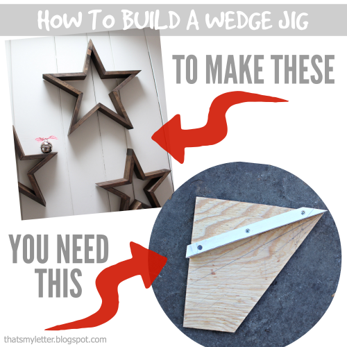 wedge jig to make stars