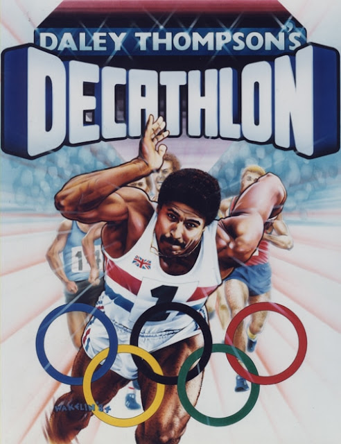 Daley Thompson's Decathlon - Bob Wakelin