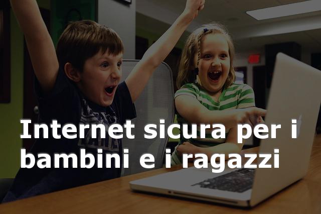 sicurezza Internet per i bambini
