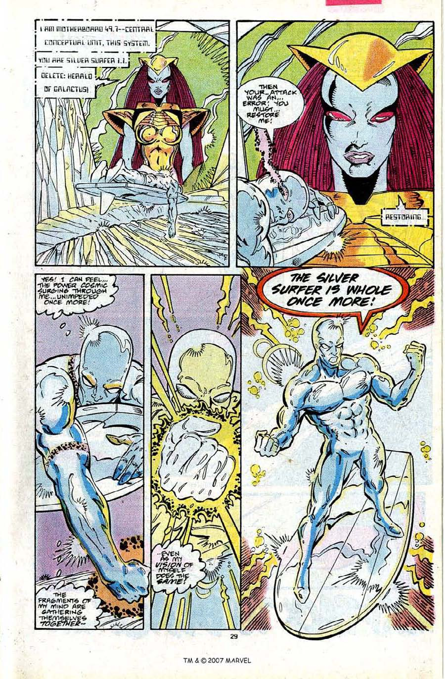 Read online Silver Surfer (1987) comic -  Issue #24 - 31