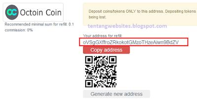 Cara withdraw coin occ ke exrates kemudian ke Vip bitcoin.co.id