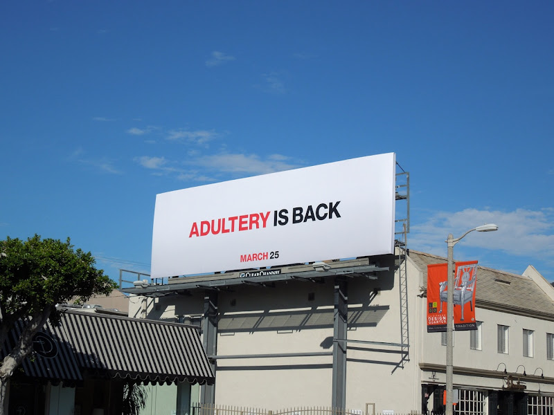 Adultery is back Mad Men season 5 billboard