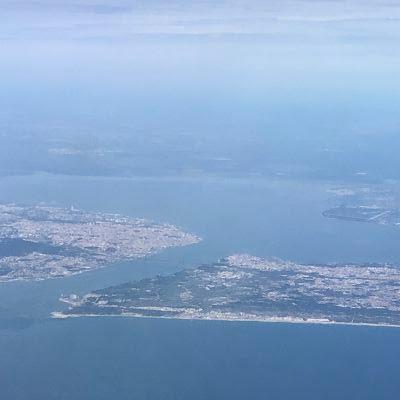 Lisboa desde el Binter