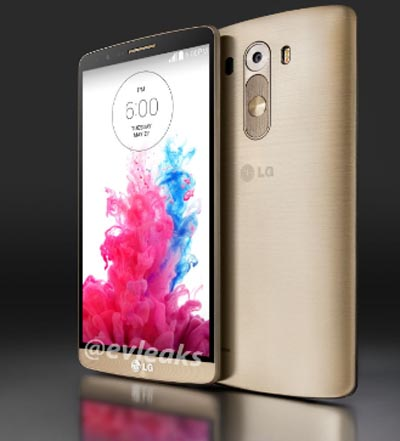 Mantap! Ini Bocoran Terbaru Spek LG G3