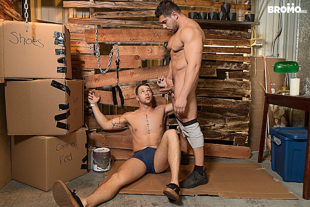 Bareback Inquisition Part 3 - Damien Stone | Casey Kole - BROMO