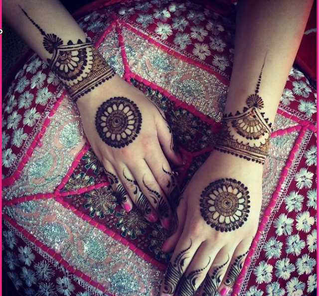 Latest Eid Mehndi Designs for girls 2016