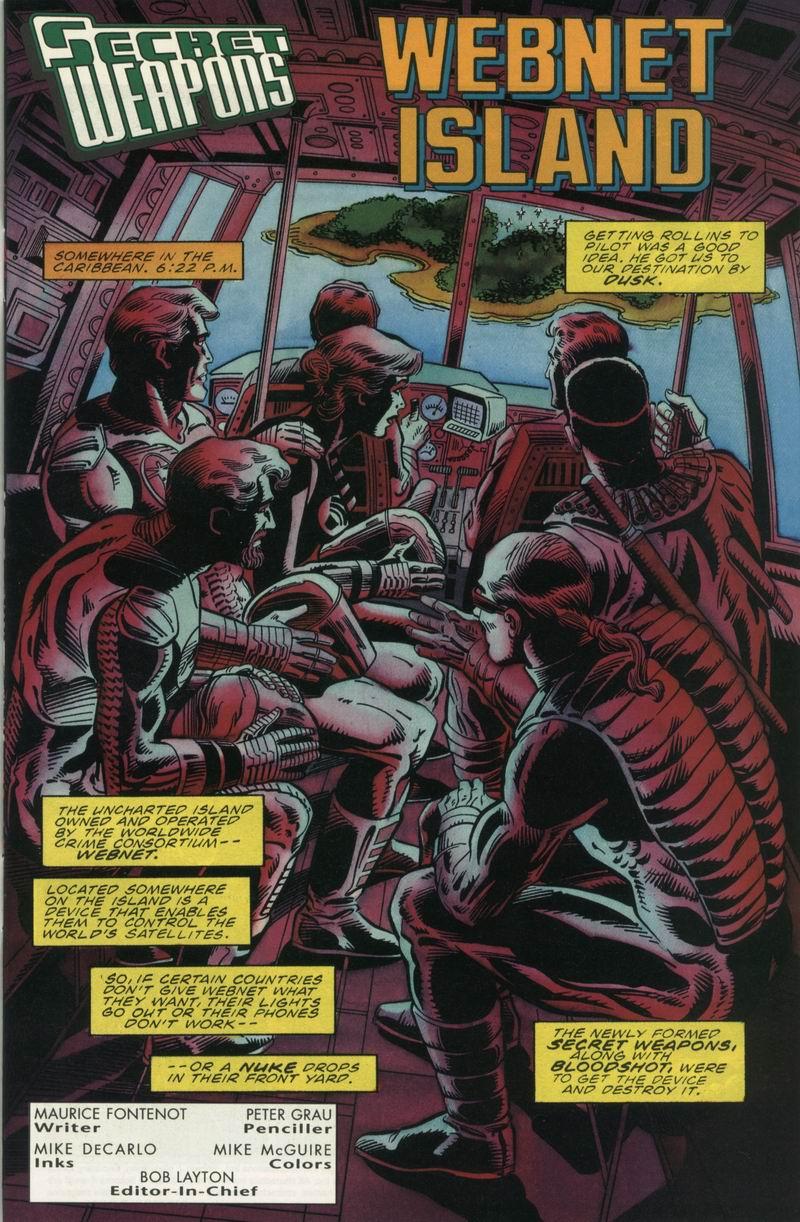 Read online Secret Weapons comic -  Issue #12 - 2