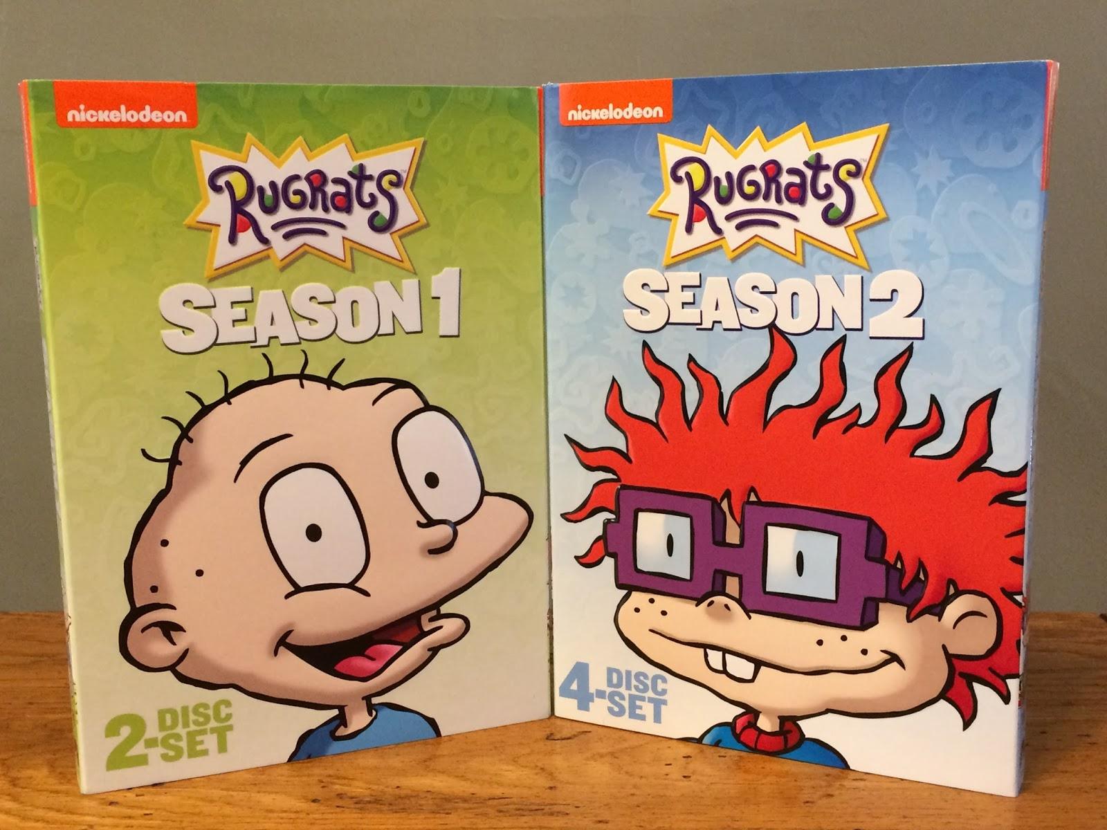 A GEEK DADDY: RUGRATS SEASON 1 & 2 DVD GIVEAWAY