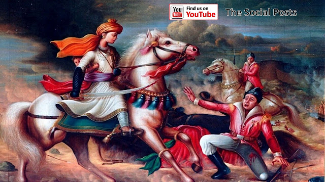 Poems of Jhansi ki Rani & Death Story
