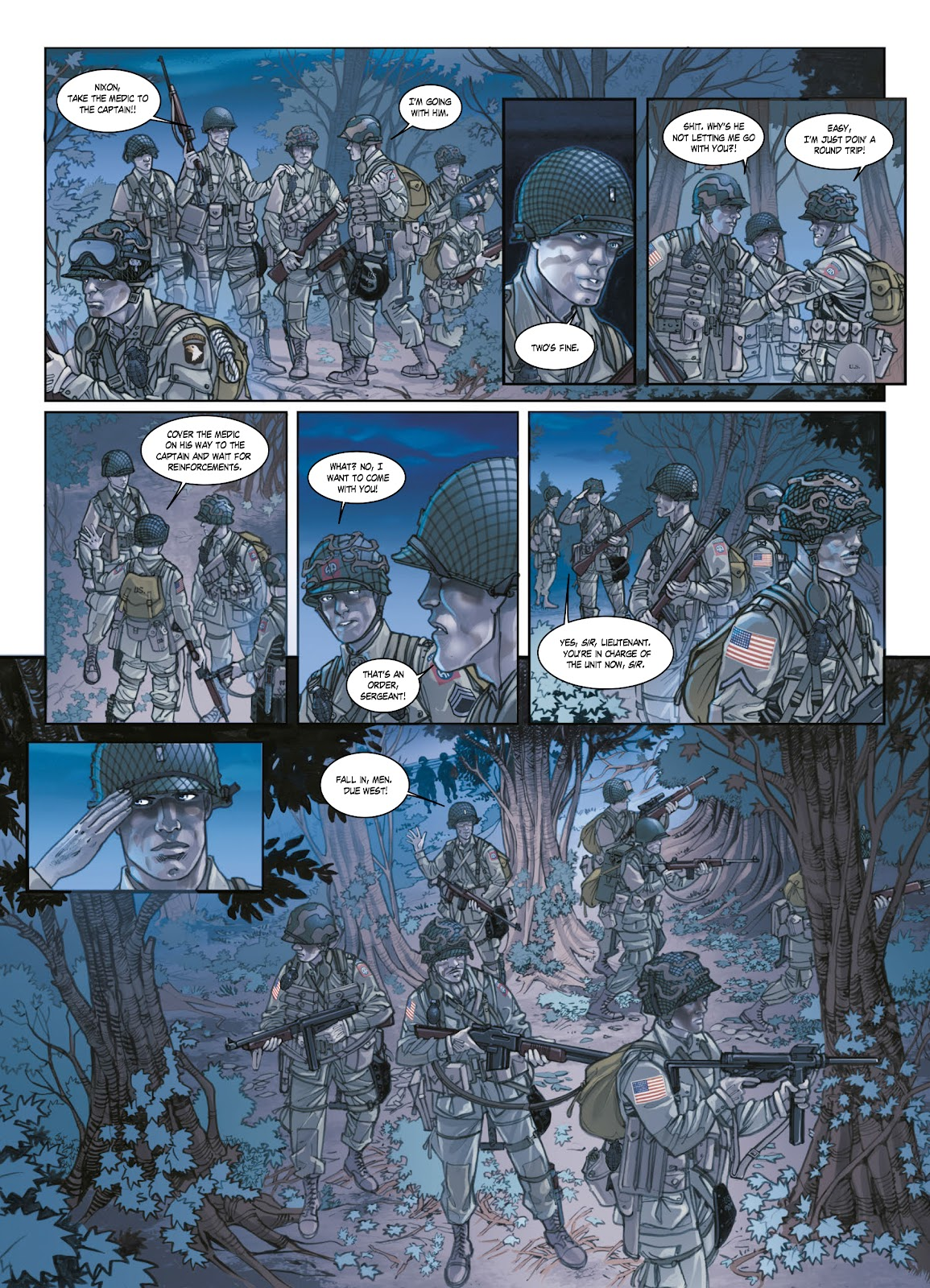 Read online Opération Overlord comic -  Issue #1 - 17