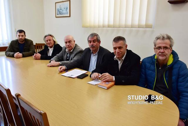 """Κάλεσμα Θ. Πετράκου από το Ναύπλιο για στήριξη της """"Αγωνιστικής Συνεργασίας"""" - Οι υποψήφιοι στην Αργολίδα"""