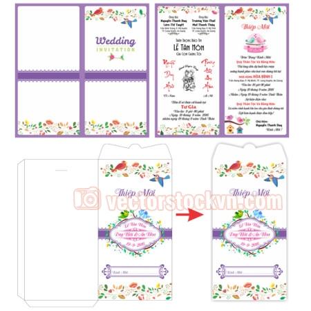 Thiệp cưới 4 màu (7)