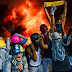 Manifestantes na Venezuela dão exemplo ao Brasil e queimam o Supremo Tribunal, já o STF do Brasil queima os brasileiros.