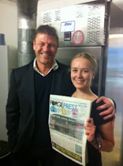 Sean Bean at home in Sheffield