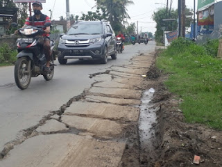 Pemkab Bekasi Anggarkan 10 Miliar Untuk Perbaikan Jalan Raya Perjuangan Babelan